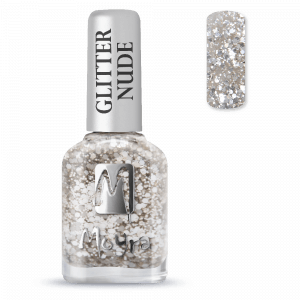 Moyra Glitter Nude Körömlakk 391 Silver