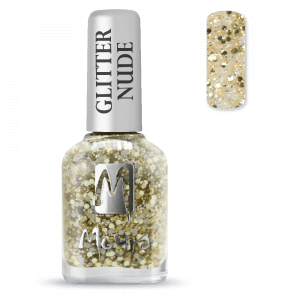 Moyra Glitter Nude Körömlakk 393 Gold