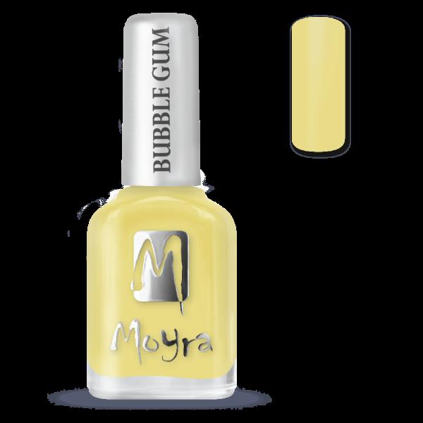 Moyra Bubble Gum Effect Körömlakk 622 Limoncello