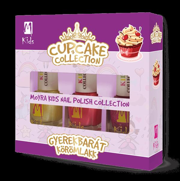 Moyra Kids Körömlakk Szett Cupcake