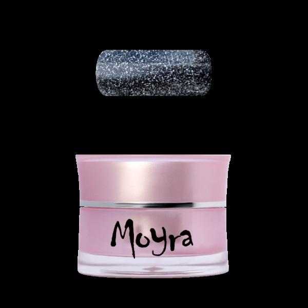 Moyra Színes Zselé No. 108 Glitter Black