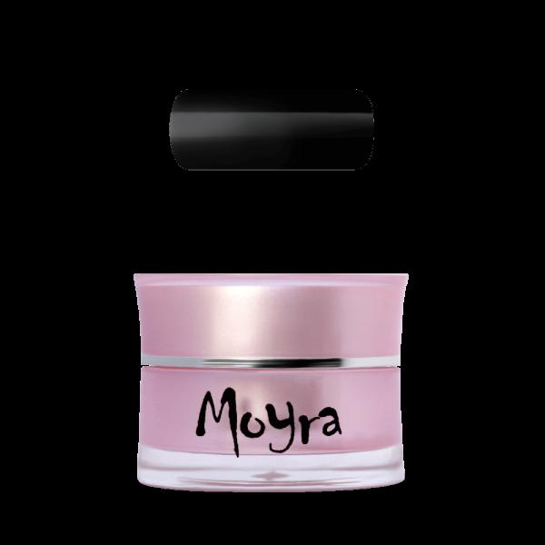 Moyra AquaLine Színes Zselé No. 4 Black