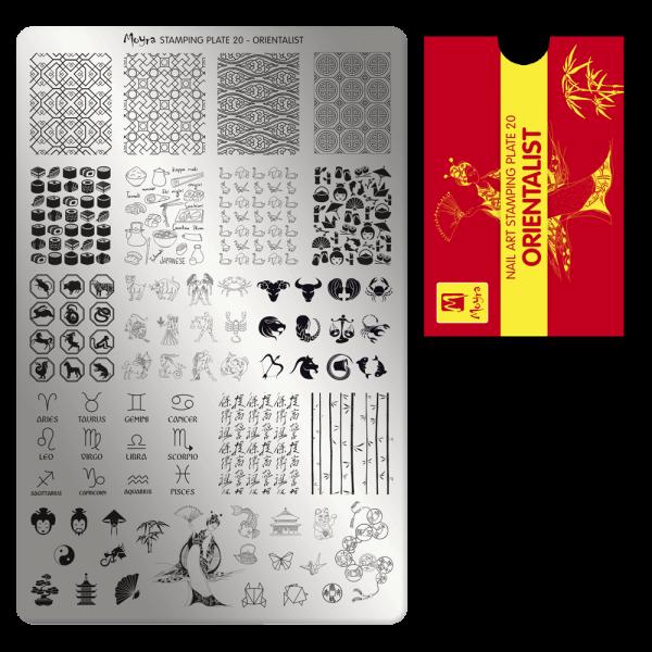 Moyra Nyomdalemez 20 Orientalist