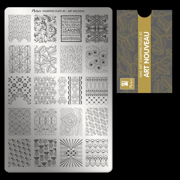 Moyra Nyomdalemez 40 Art Nouveau