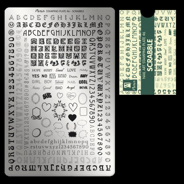 Moyra Nyomdalemez 46 Scrabble