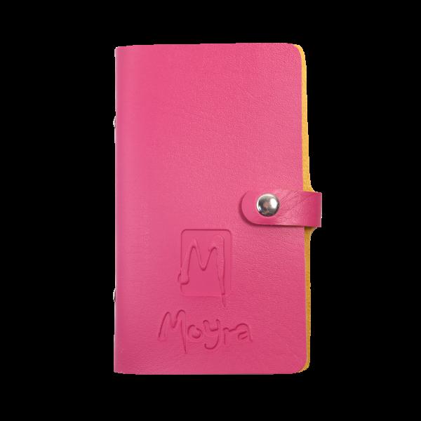 Moyra mini körömnyomda lemeztartó, Rózsaszín