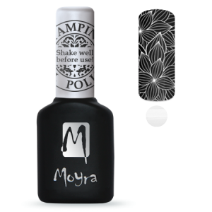Moyra Stamping Gel Polish Sgp 03 White