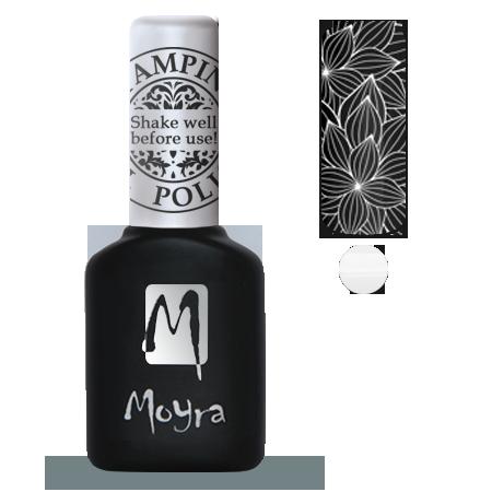 Moyra Stamping Gel Polish Sgp 03 White