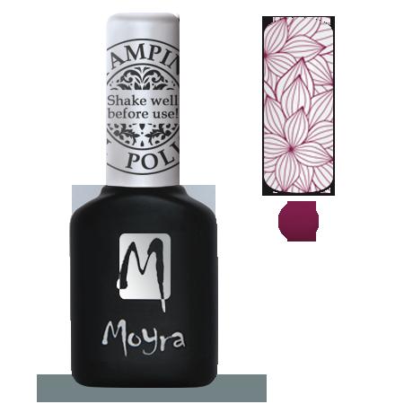 Moyra Stamping Gel Polish Sgp 04 Berry