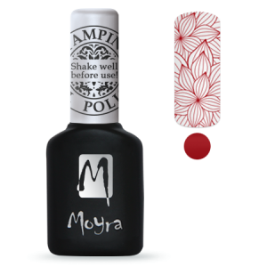 Moyra Stamping Gel Polish Sgp 06 Red