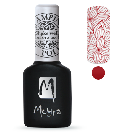 Moyra Stamping Gel Polish Sgp 06 Red