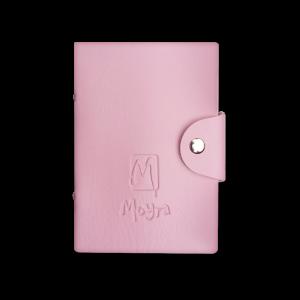 Moyra körömnyomda lemeztartó No. 02 Rózsaszín