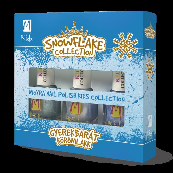 Moyra Kids Körömlakk Szett Snowflake