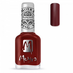 Moyra Nyomdalakk SP 03 Burgundy Red