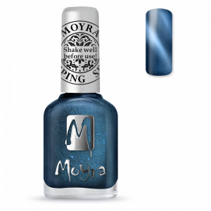 Moyra Nyomdalakk SP 33 Cat Eye Magnetic Blue