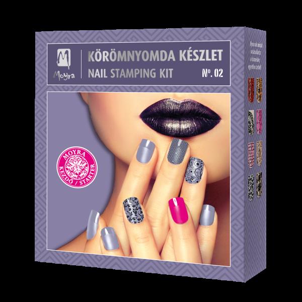 Moyra Körömnyomda Készlet No. 02