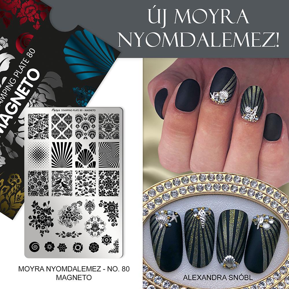 Moyra körömnyomda lemez No. 80 Magneto