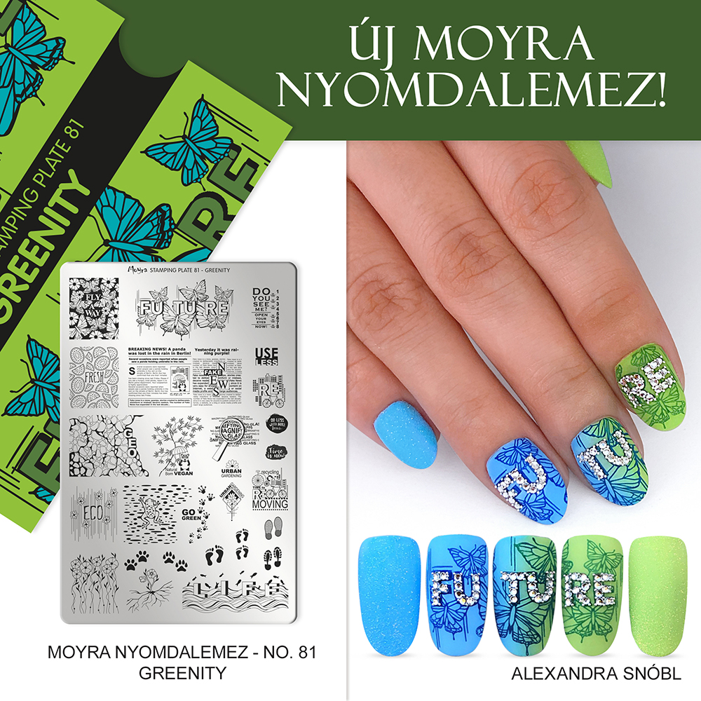 Moyra nyomdalemez No. 81 Greenity