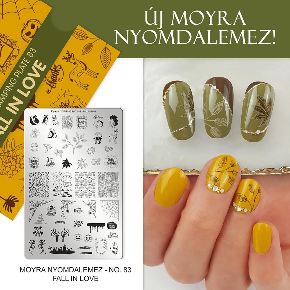 Moyra nyomdalemez No. 83 Fall in love