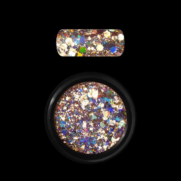 Moyra Holo glitter mix No. 02, Arany