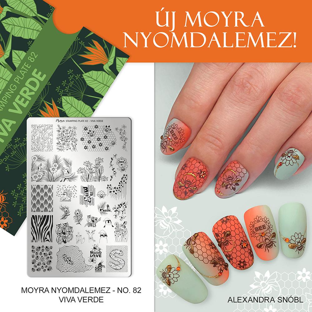 Moyra nyomdalemez No. 82 Viva verde