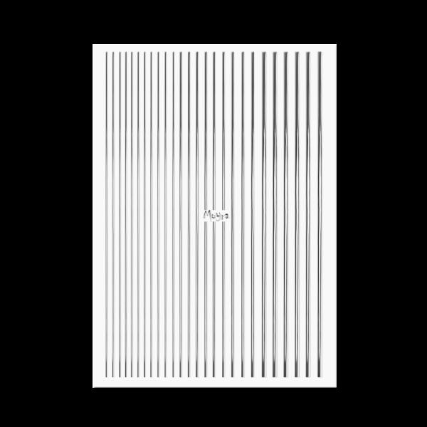 Moyra Körömdíszítő csík No. 02 Silver