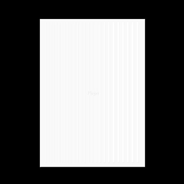 Moyra Körömdíszítő csík No. 04 Fehér
