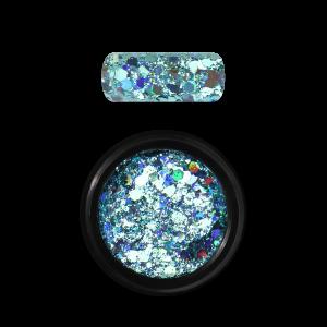 Moyra Holo glitter mix No. 04, Türkiz