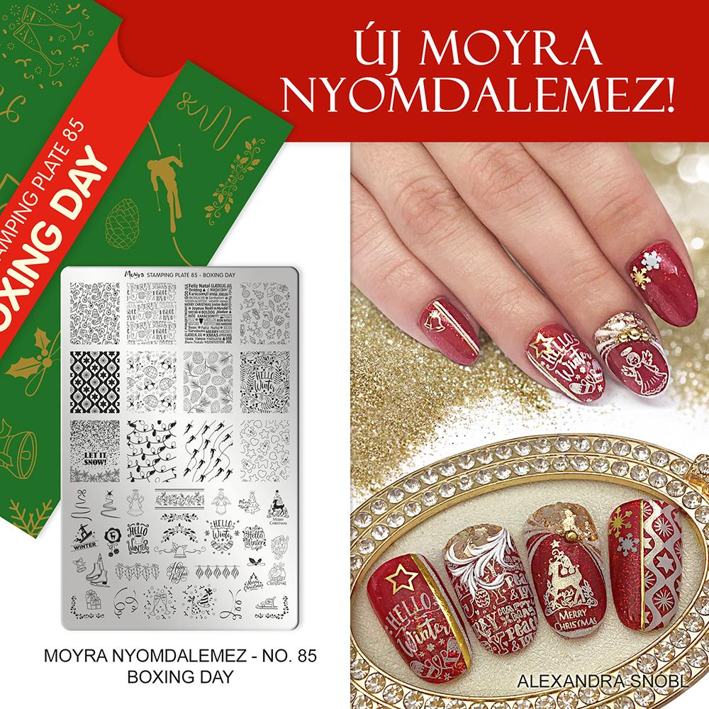 Moyra nyomdalemez No. 85 Boxing day