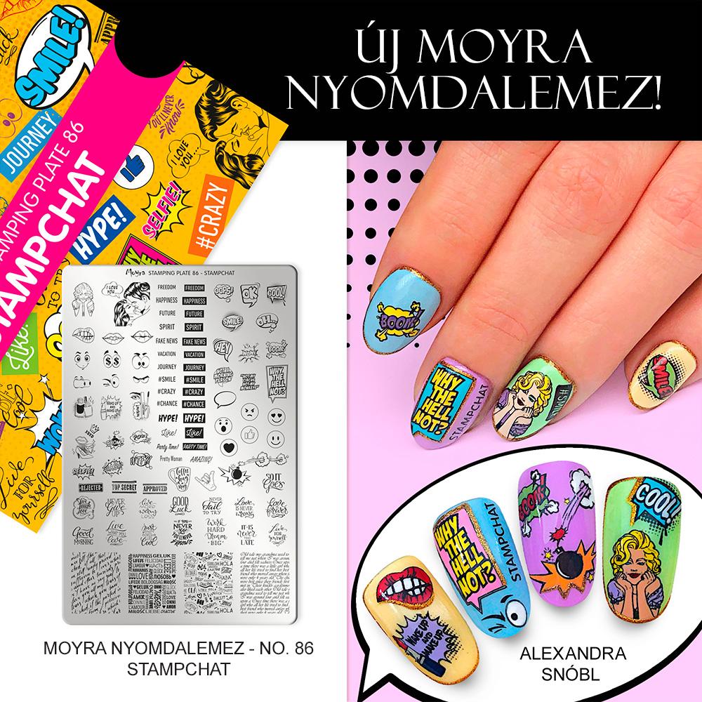Moyra nyomdalemez No. 86 Stampchat