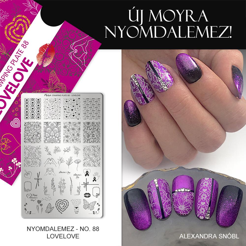 Moyra körömnyomda lemez No. 88 Lovelove
