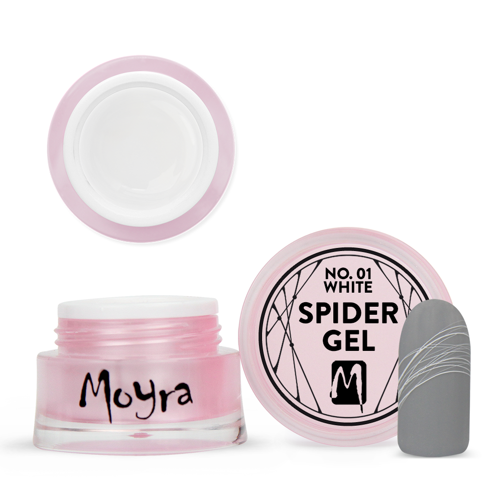 Moyra Spider gel No. 01 White