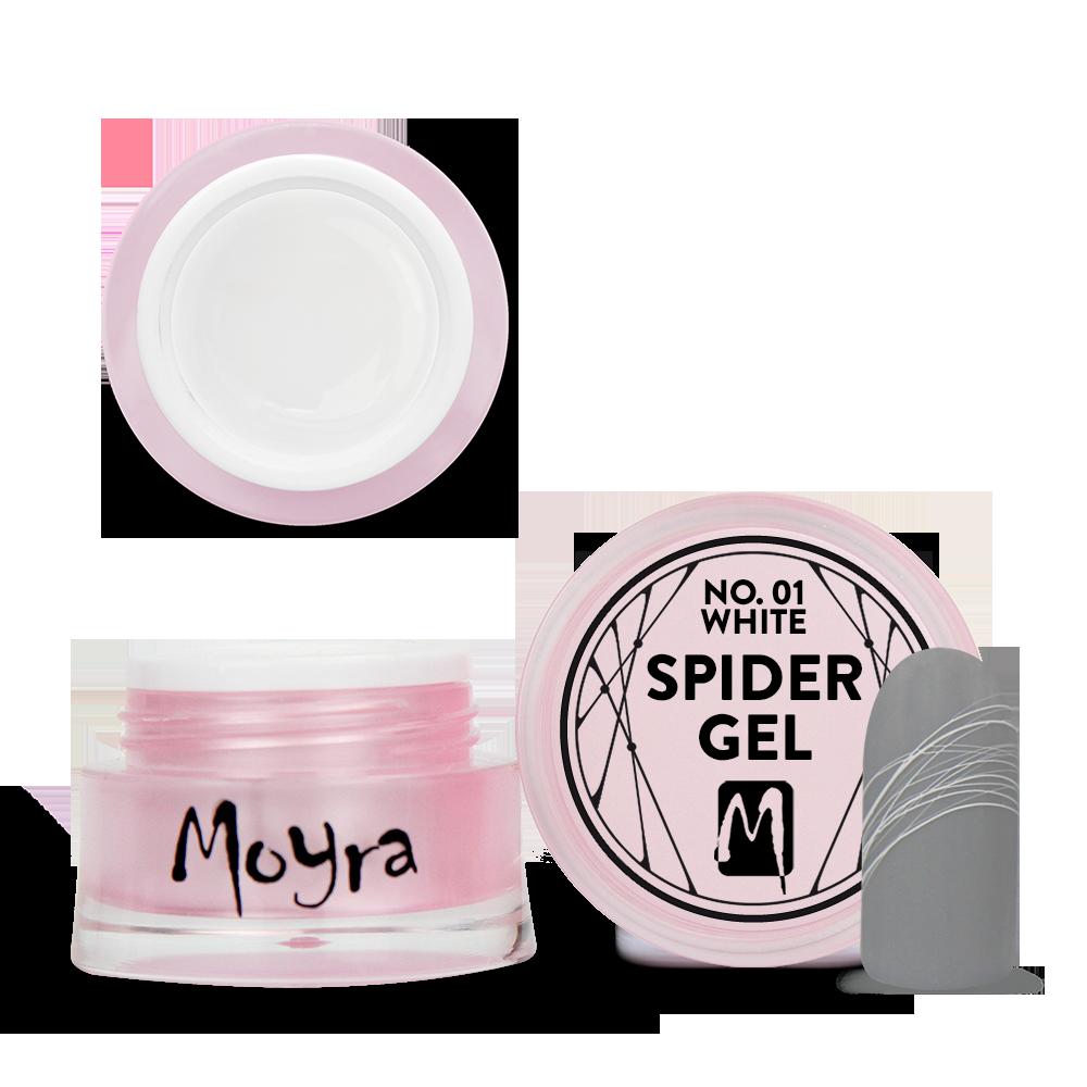 Moyra Spider gel No. 01 White