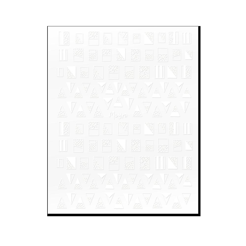 Moyra öntapadós körömdíszítő matrica No. 01