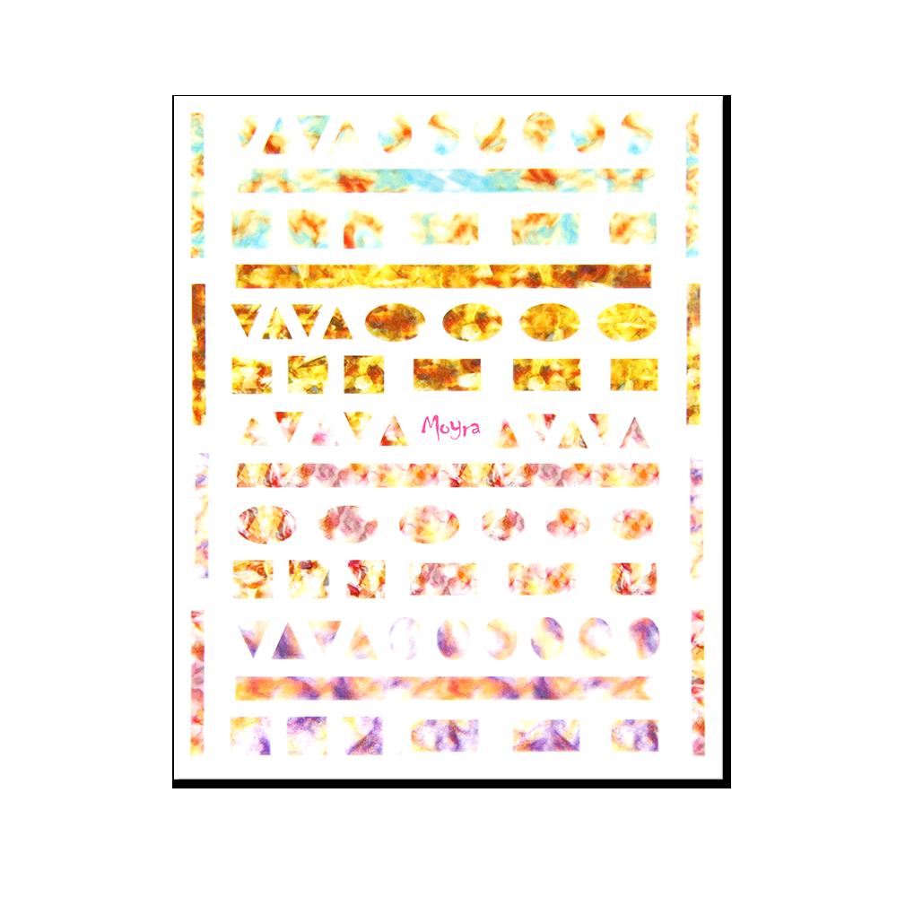 Moyra öntapadós körömdíszítő matrica No. 06