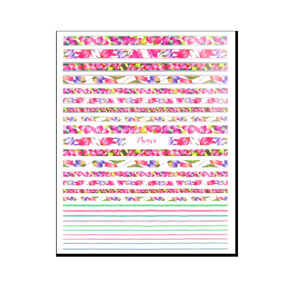 Moyra öntapadós körömdíszítő matrica No. 07