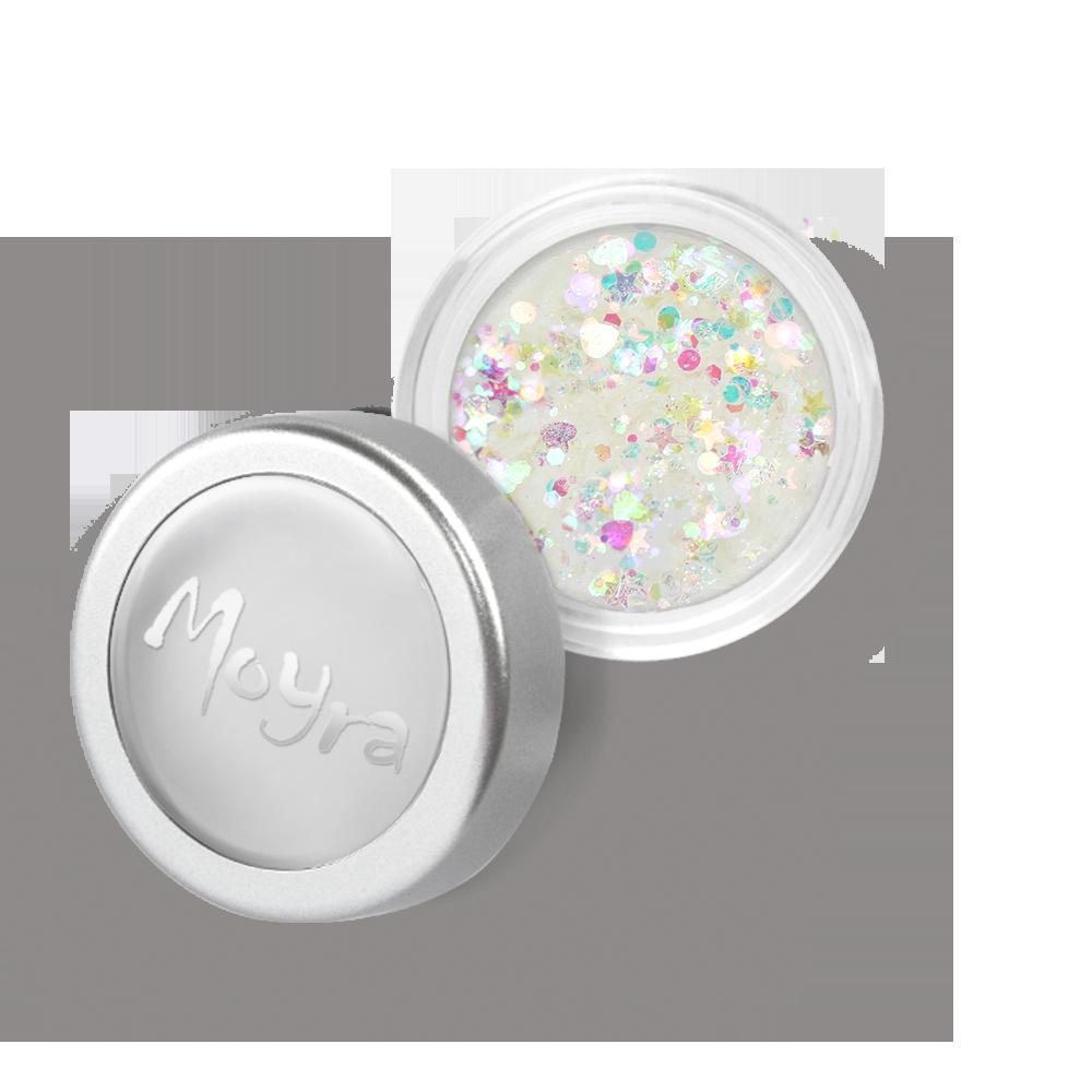 Moyra Mini Rainbow flitter mix