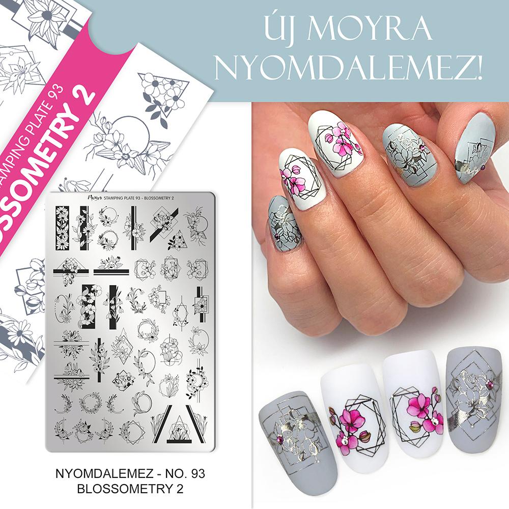 Moyra Körömnyomda lemez 93 Blossometry 2