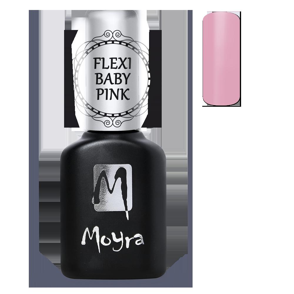 Moyra Lakkzselé Flexi Base - Baby Pink