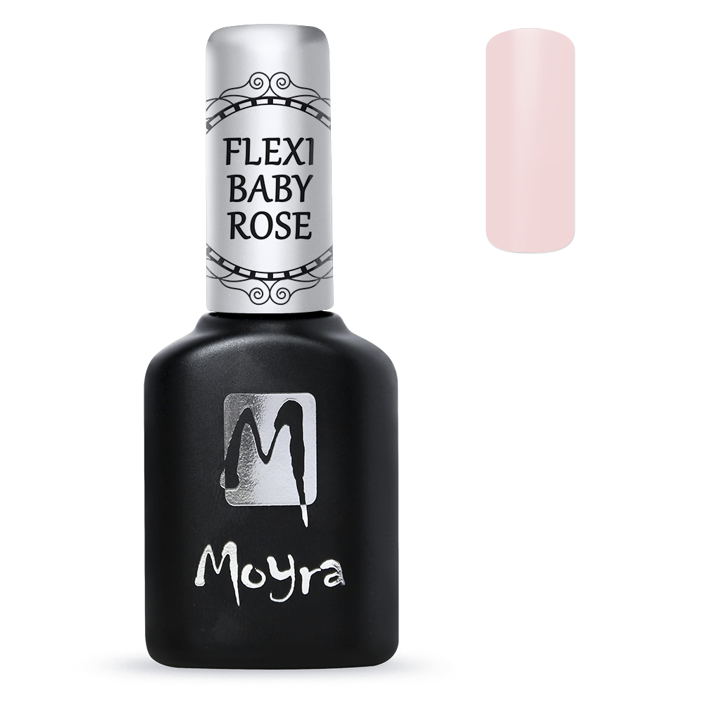 Moyra Lakkzselé Flexi Base - Baby Rose