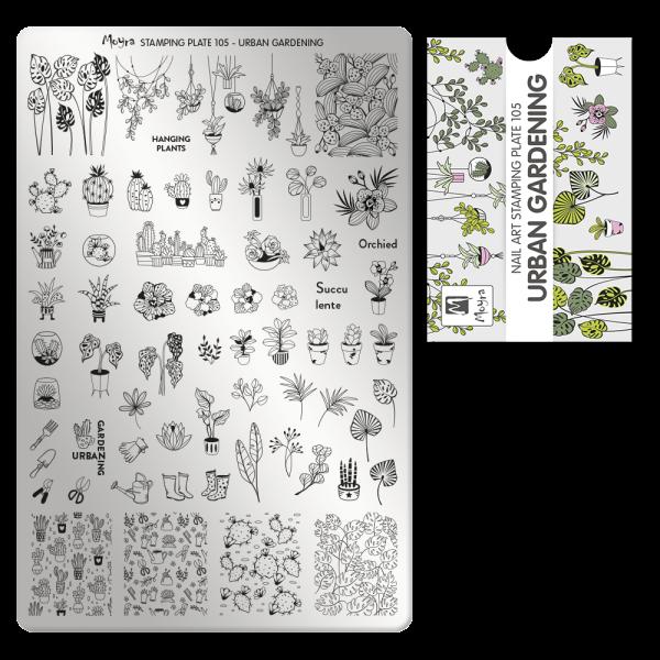Moyra Körömnyomda lemez 105 Urban gardening