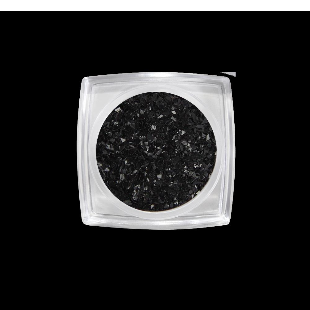 Black filings körömdíszítő