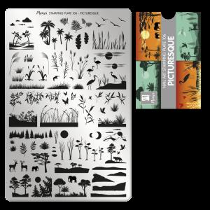 Moyra Körömnyomda lemez 106 Picturesque