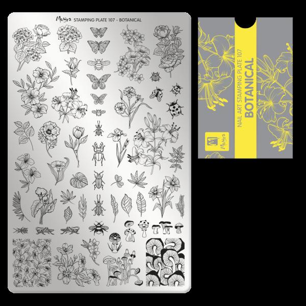 Moyra Körömnyomda lemez 107 Botanical