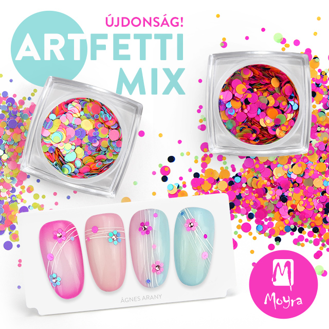 Újdonság! Moyra Artfetti mix No. 01, No. 02