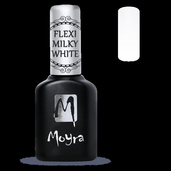 Moyra Lakkzselé Flexi Milky White