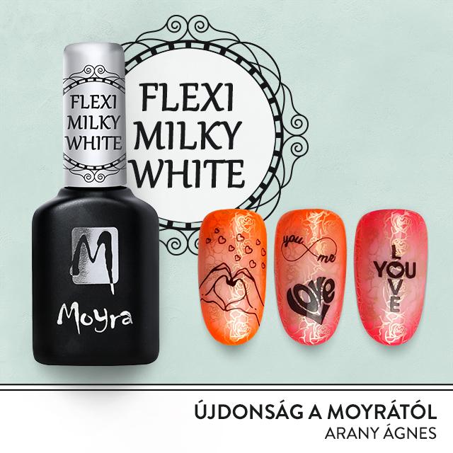 Moyra Gel Polish - Flexi Milky White