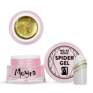 Moyra Spider gel No. 03 Gold