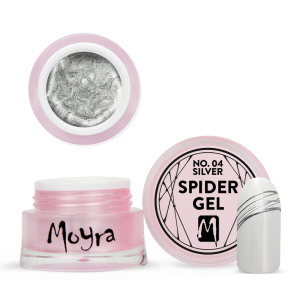 Moyra Spider gel No. 04 Silver