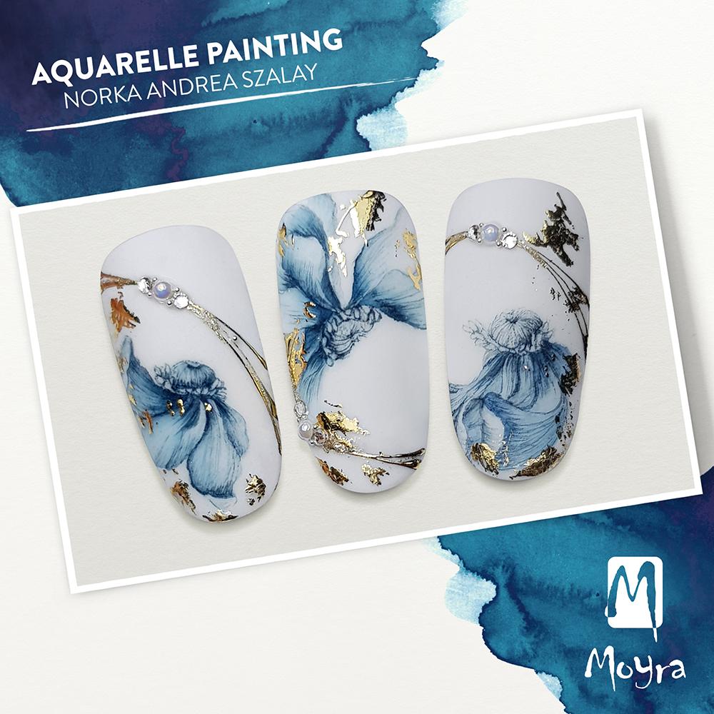 Moyra akvarelfestés